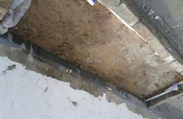 云岩区农业银行屋顶女儿墙漏水