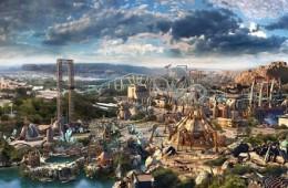 北京环球影城主题公园配套建设(一期)项目城市大道巧克力工厂基础防水工程