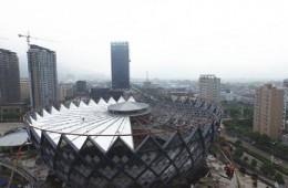 丽水市体育中心主体育场提升改造工程-钢结构防腐工程分包
