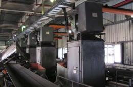 厦门华夏电力网控室走廊屋面、#2机煤仓间屋面防水处理
