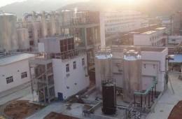 青山纸业环保部污水深度处理系统氧化池增加防腐处理工程