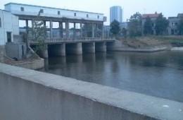 常州市城市防洪工程管理处十字河南站、锁桥河泵站等多个闸站闸门防腐施工