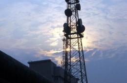 吉林省辽源市 辽源电视转播台铁塔防腐项目施工分包