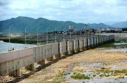 峡江水利枢纽库区防护工程防渗及边坡整治等土建施工