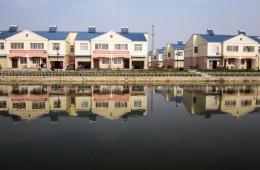 荆门市东宝区牌楼镇长岗村居民点二期5#楼墙面渗水、漏水维修