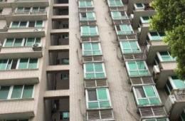 武汉市江岸区江大路20号 大江天际小区外墙防水维修工程