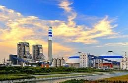 上海上电漕泾发电有限公司 原水区消防水池内壁防腐施工