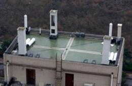 青岛市广播电视台崂顶基站机房防水翻新修缮