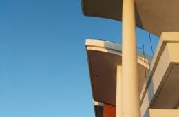 乳山市白沙滩镇中心学校外墙防水,涂料翻新