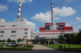 杨树浦电厂2号炉电除尘烟风道彩钢瓦漏水、修缮加固