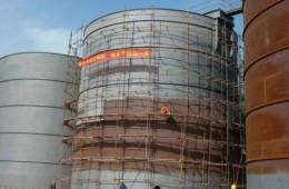 地面油罐外壁防腐保养工程
