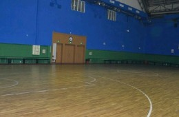 朝阳区飞人体育篮球馆(十里堡店)屋顶钢结构漏水维修