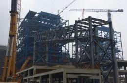 衢州市柯城区巨化热电有限公司热电钢结构防腐工程