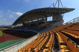 丽水市体育中心主体育场提升改造钢结构防腐施工外包