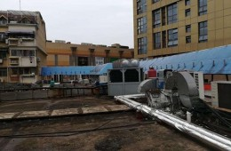 昆承中学改扩建工程防水、外墙保温外包