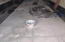桠溪镇桠溪农贸市场提档升级 屋面防水改造