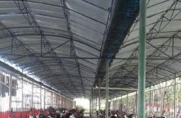 临澧县消防大队球场改造、车棚翻新、墙面修补及防水维修