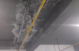 碑林区王府井百货地下停车场漏水修理