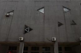 江夏区高新六路长咀科技园创新苑楼顶、墙壁漏水