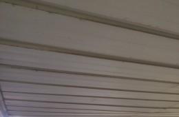天桥区蓝翔路机动车交易中心万众车行顶棚漏水维修