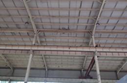浦口区虎桥东路立业电力变压器公司厂区改造 钢结构屋顶防水维修