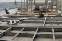 贵阳卷烟厂天沟、屋面防水、电梯井、厕所漏水维修
