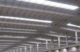 潍坊诸城市北汽福田多功能汽车厂零部件车间屋顶渗漏水修缮