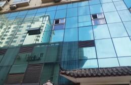 长沙天心区城市便捷酒店墙壁渗水修理