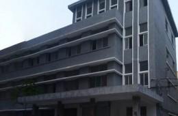 潍坊市城市管理行政执法支队办公楼屋顶防水保温,外墙刷新改造项目