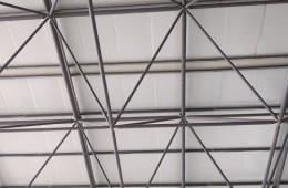 泰安市天龙湖水质自动监测站屋顶漏水修理