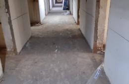 山东理工大学西校公寓改造工程屋顶、卫生间防水分项工程。