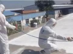 喷涂防水工程的施工技巧!