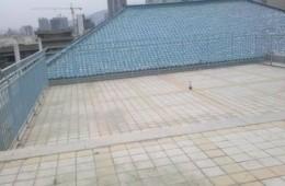 上海华铁旅服公司嘉兴南站餐厅房顶漏水修理