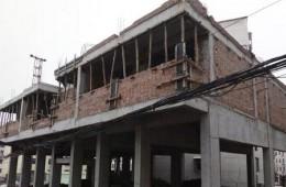洛阳新安县西关社区县委3号院旁 房顶做卷材防水