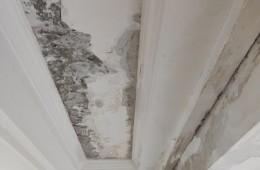 卧室天花板漏水,楼上是一处20平方左右的天台需要做防水卷材。